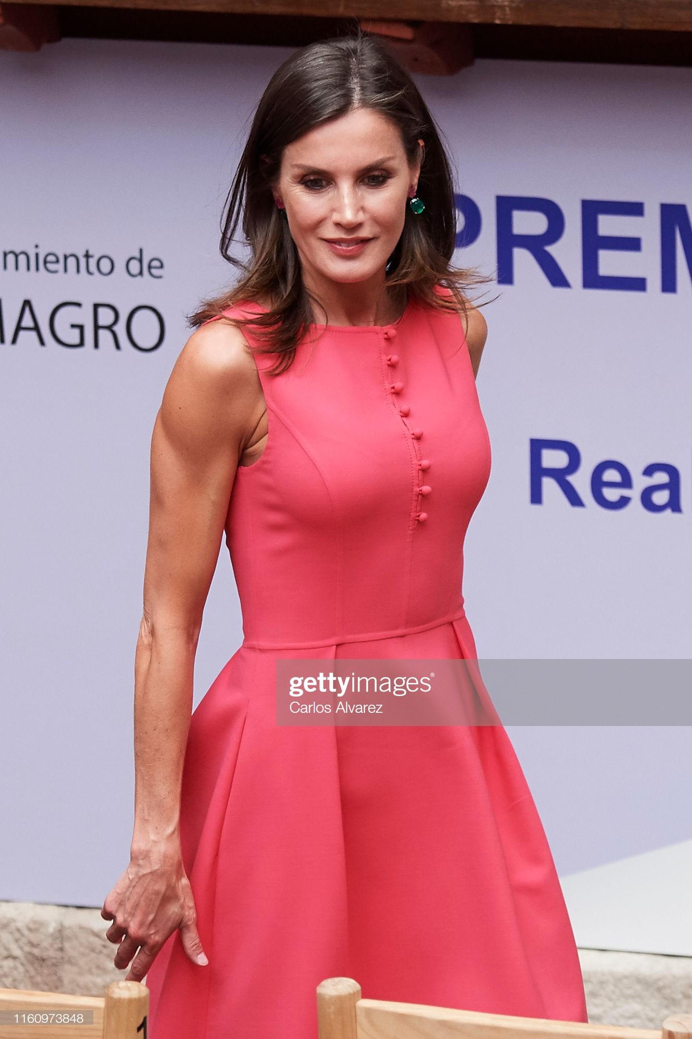 Sở hữu cánh tay săn chắc lực điền nhưng Hoàng hậu Tây Ban Nha lại được khen ngợi hết lời khi diện váy áo sát nách - Ảnh 1.