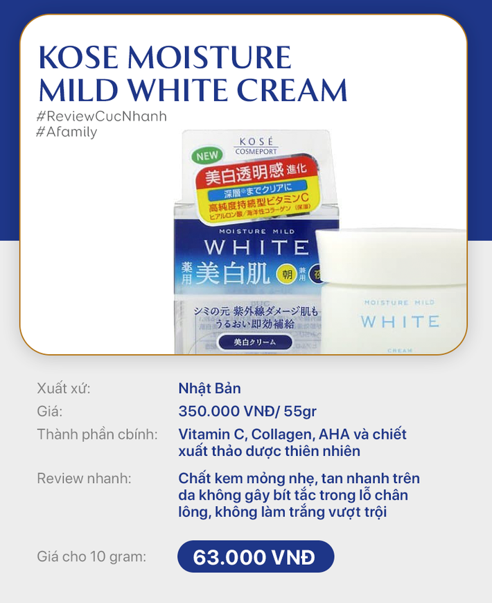 Phân vân không biết mua kem dưỡng sáng loại nào, bạn hãy đọc ngay review nhanh 10 lọ kem giá từ rẻ đến đắt - Ảnh 5.