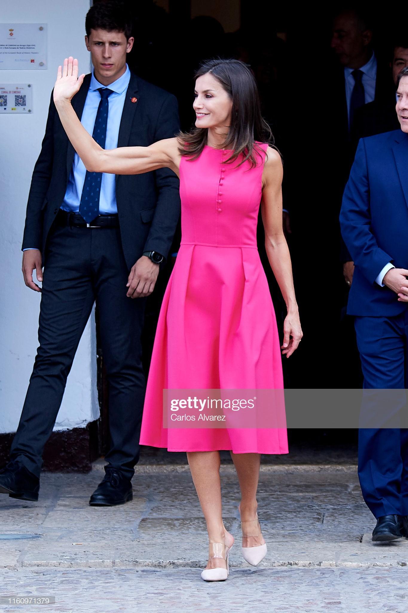 Sở hữu cánh tay săn chắc lực điền nhưng Hoàng hậu Tây Ban Nha lại được khen ngợi hết lời khi diện váy áo sát nách - Ảnh 5.