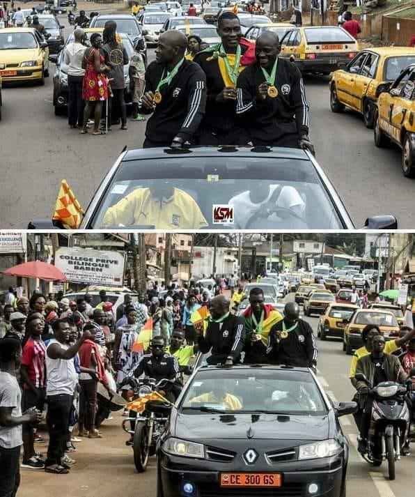 Chuyện chỉ có ở châu Phi: Sau khi bắt chính chung kết cúp châu lục, tổ trọng tài Cameroon hưởng đặc quyền hiếm thấy trong lịch sử bóng đá - Ảnh 1.