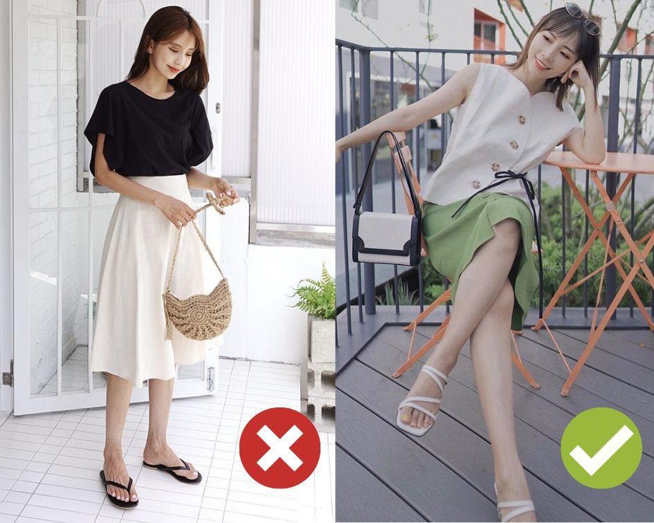 Không phải váy và loại giày nào cũng ăn ý với nhau, nhưng bạn diện 4 công thức sau thì dứt khoát đẹp - Ảnh 1.