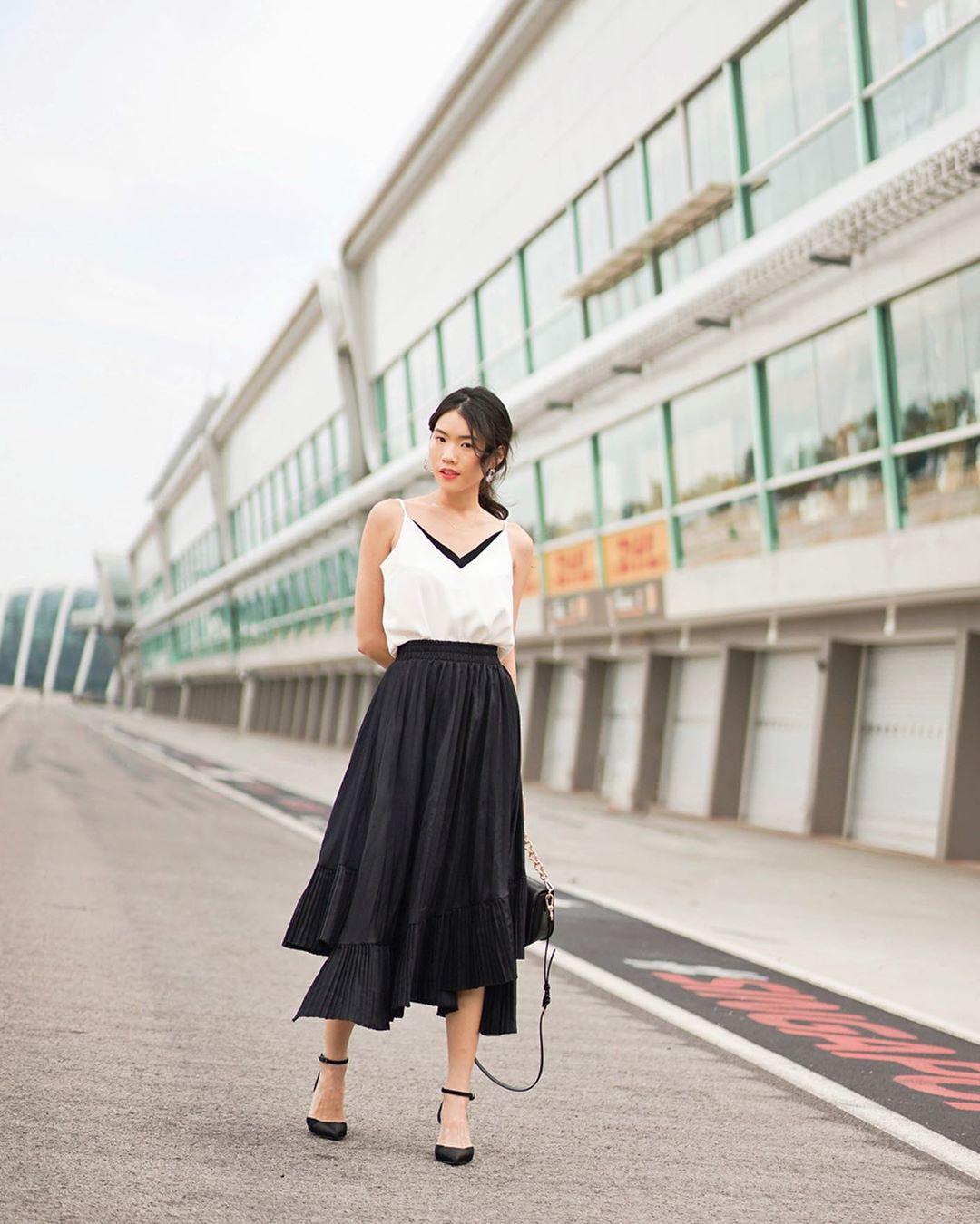 Không phải váy và loại giày nào cũng ăn ý với nhau, nhưng bạn diện 4 công thức sau thì dứt khoát đẹp - Ảnh 15.