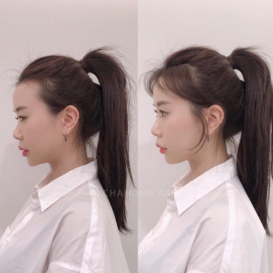 Buộc tóc đuôi ngựa sẽ rất dễ bị lộ đầu hói và mặt to nếu bạn không biết thêm bí kíp đặc biệt này - Ảnh 1.