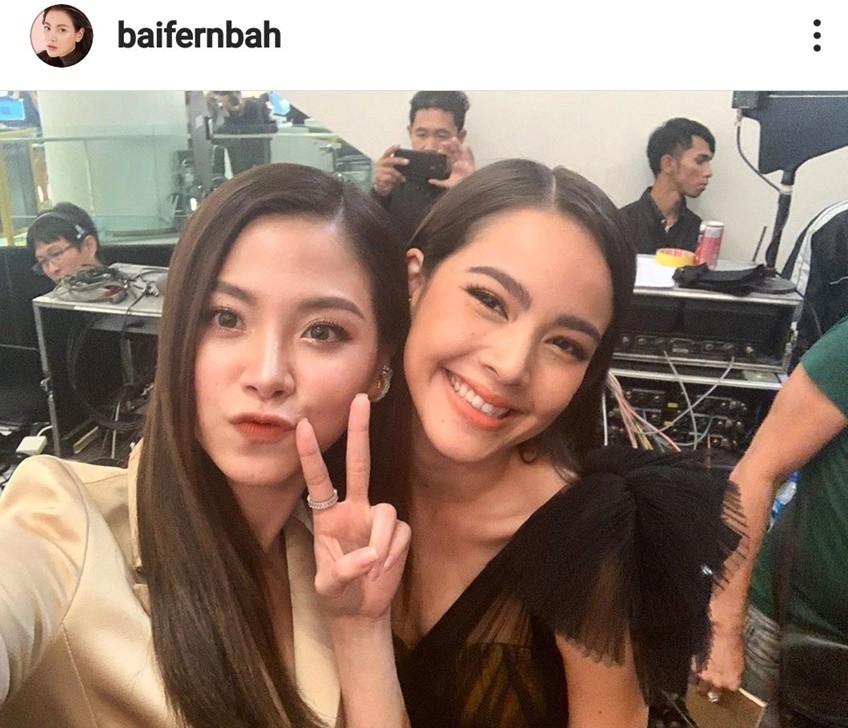 Hai nữ chính nóng nhất Thái đọ sắc cùng 1 khung hình, người đẹp chuyển giới Baifern gọi yêu Yaya là Kasalong của Ni - Ảnh 4.
