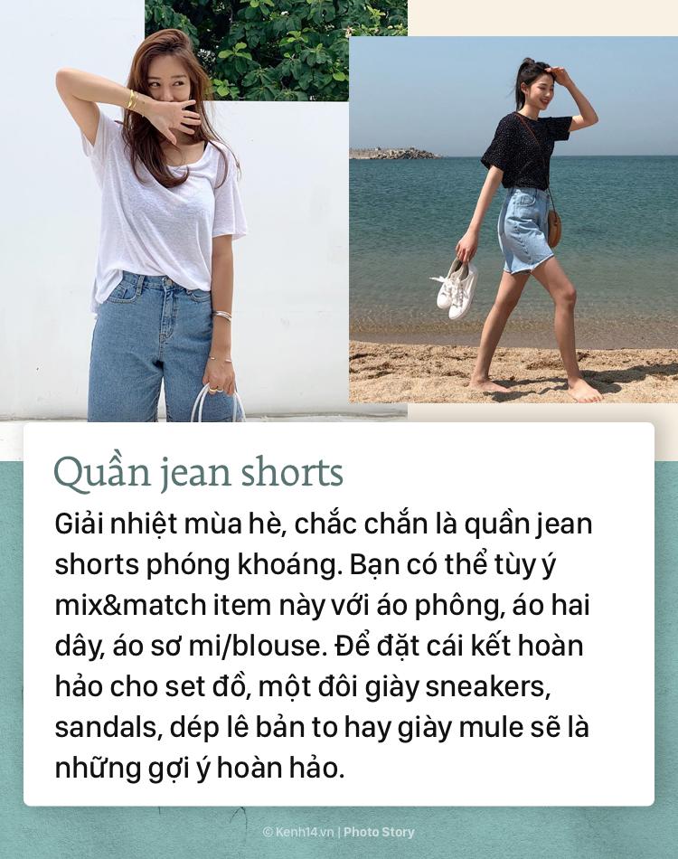 4 kiểu quần jeans bạn tha hồ diện vào mùa hè mà không lo nóng bức - Ảnh 7.
