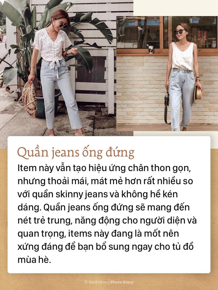 4 kiểu quần jeans bạn tha hồ diện vào mùa hè mà không lo nóng bức - Ảnh 5.
