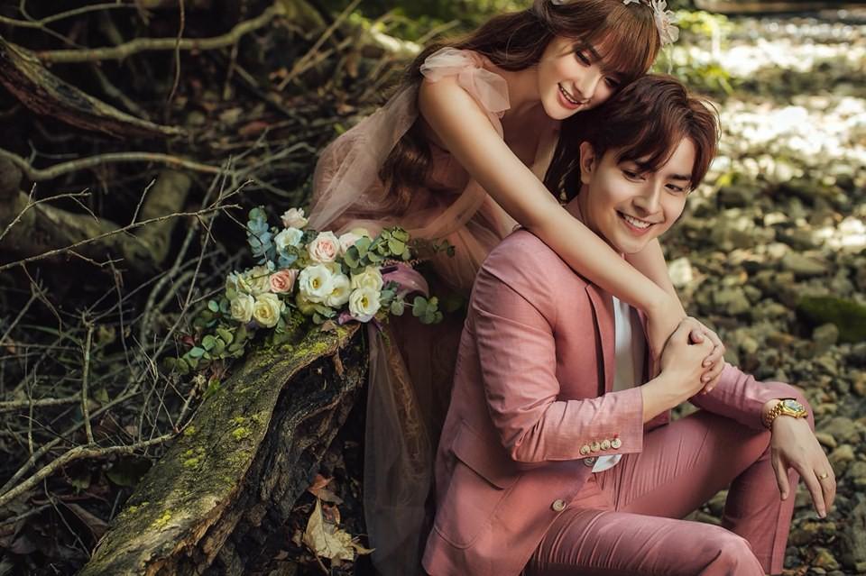 Trọn bộ ảnh cưới đẹp long lanh của Thu Thủy và ông xã kém 10 tuổi trước ngày trọng đại - Ảnh 2.
