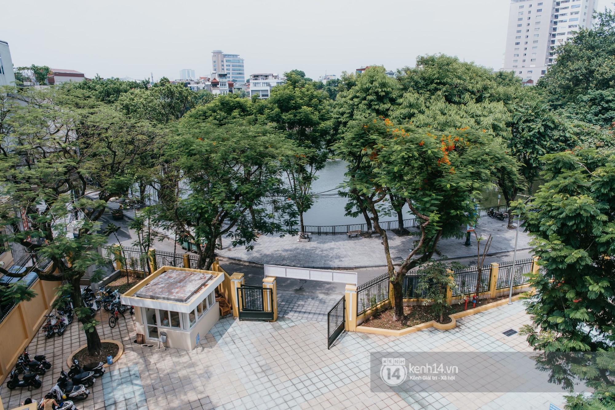 Xuất hiện ngôi trường cấp 3 công lập cao nhất Hà Nội, siêu đẹp và hiện đại với vô vàn góc sống ảo xịn sò - Ảnh 6.