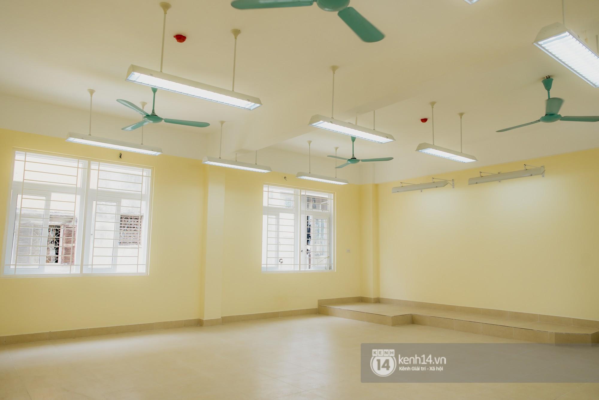 Xuất hiện ngôi trường cấp 3 công lập cao nhất Hà Nội, siêu đẹp và hiện đại với vô vàn góc sống ảo xịn sò - Ảnh 11.