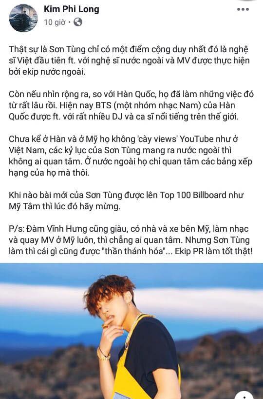 Thanh niên từng ngoại tình với Misthy gây sốc coi thường MV Hãy Trao Cho Anh của Sơn Tùng MTP - ảnh 2