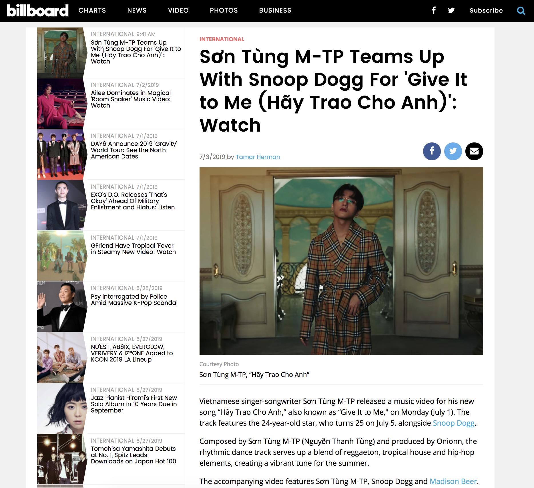 Snoop Dogg vừa tự hào chia sẻ lên Instagram chuỗi thành tích khủng của Hãy Trao Cho Anh - Ảnh 5.