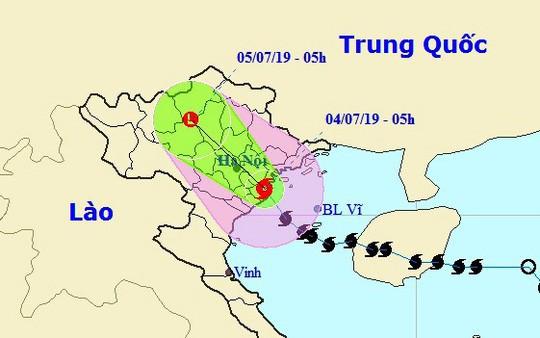 Bão số 2 giật cấp 11 đã đổ bộ vào đất liền các tỉnh từ Nam Định đến Hải Phòng, 2 người chết do sạt lở ở Thanh Hóa - Ảnh 1.