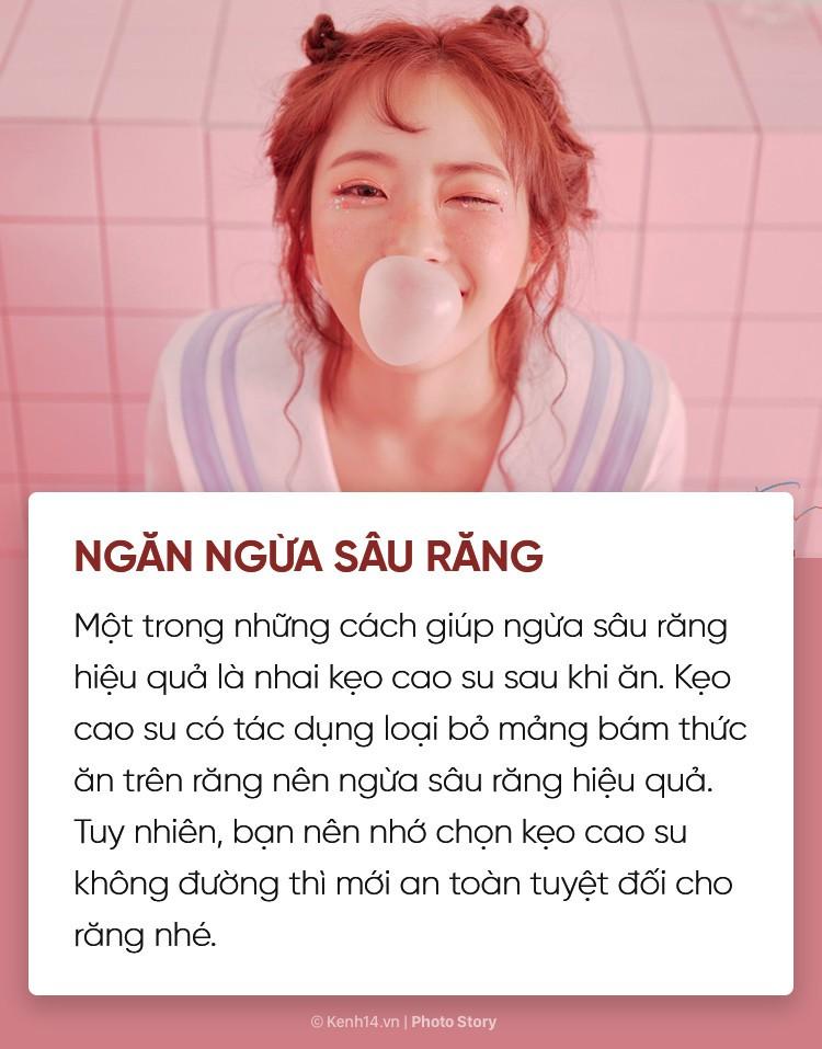 Bạn có biết nhai kẹo cao su cũng mang lại vô số tác dụng với cơ thể không? - Ảnh 1.