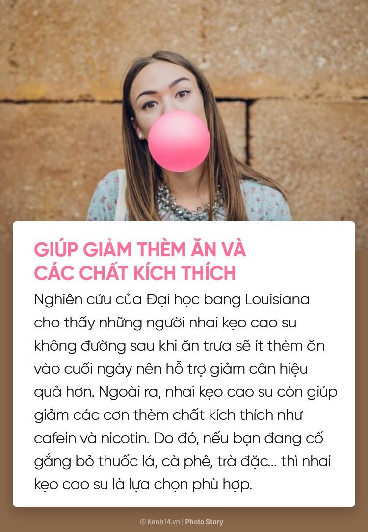 Bạn có biết nhai kẹo cao su cũng mang lại vô số tác dụng với cơ thể không? - Ảnh 9.