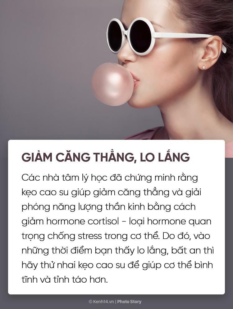 Bạn có biết nhai kẹo cao su cũng mang lại vô số tác dụng với cơ thể không? - Ảnh 3.