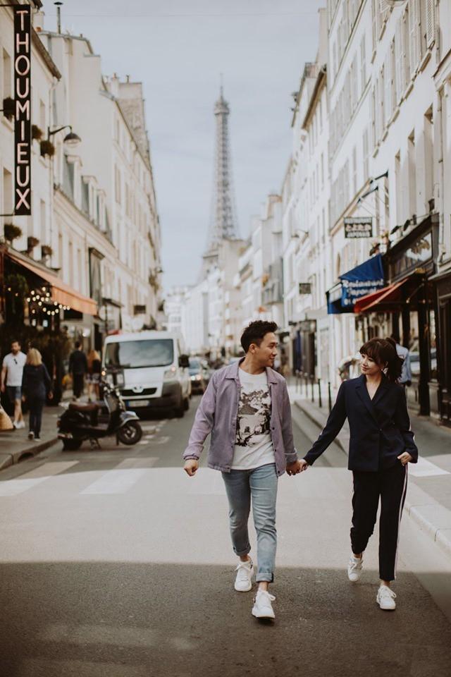Tan chảy bộ ảnh Trấn Thành và Hari Won tại Paris: Khoá môi, tay trong tay cực ngọt, nhìn vào là muốn yêu ngay! - Ảnh 6.