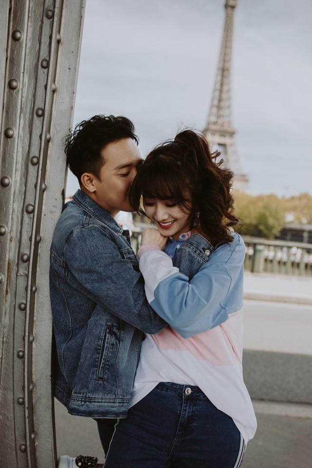 Tan chảy bộ ảnh Trấn Thành và Hari Won tại Paris: Khoá môi, tay trong tay cực ngọt, nhìn vào là muốn yêu ngay! - Ảnh 7.