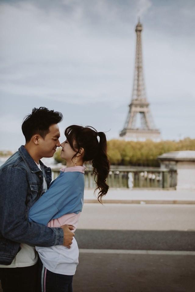 Tan chảy bộ ảnh Trấn Thành và Hari Won tại Paris: Khoá môi, tay trong tay cực ngọt, nhìn vào là muốn yêu ngay! - Ảnh 8.