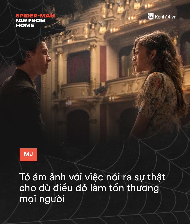 14 câu thoại cảm động trong FAR FROM HOME: Cậu để ý tớ chỉ vì tớ là Spider-Man à? - Ảnh 12.