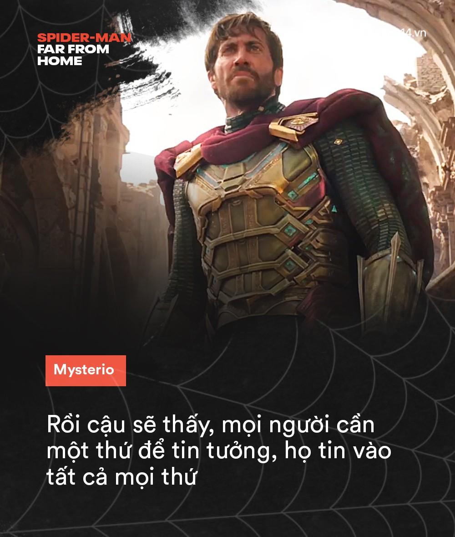 14 câu thoại cảm động trong FAR FROM HOME: Cậu để ý tớ chỉ vì tớ là Spider-Man à? - Ảnh 13.