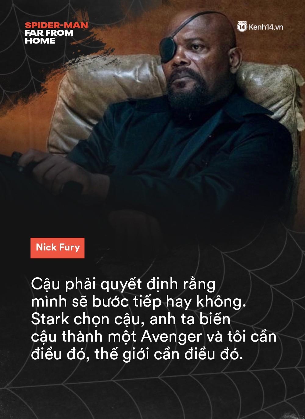 14 câu thoại cảm động trong FAR FROM HOME: Cậu để ý tớ chỉ vì tớ là Spider-Man à? - Ảnh 2.