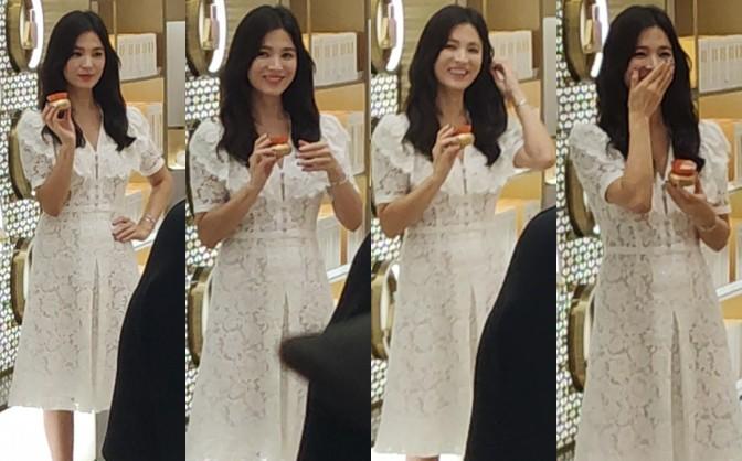 HOT: Song Hye Kyo lần đầu lộ diện sau vụ ly hôn ngàn tỷ, nhan sắc cực phẩm nhưng lại tiều tụy đến xót xa - Ảnh 10.