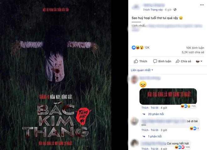 Cư dân mạng bình luận về poster của bộ phim.