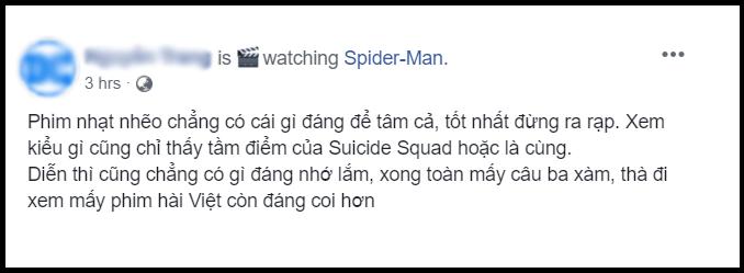Khán giả chia phe tranh cãi FAR FROM HOME: Người khen phim nhện đỉnh nhất, kẻ chê nhạt nhúng muối cũng không cứu nổi - Ảnh 5.