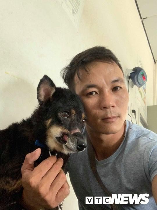 Hành trình sang Mỹ của chú chó hoang ở Huế bị hoại tử mõm - Ảnh 2.