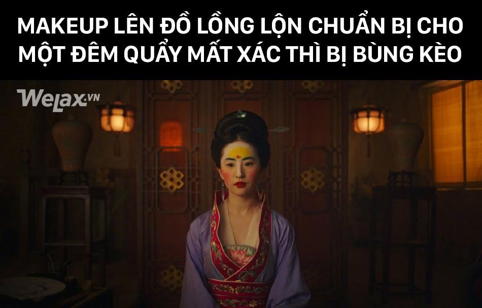 Đơ y chang biểu cảm cô Tấm ngã cây của Hạ Vi đã đành, Lưu Diệc Phi trong Mulan còn tặng khán giả nhiều meme hơn thế - Ảnh 10.