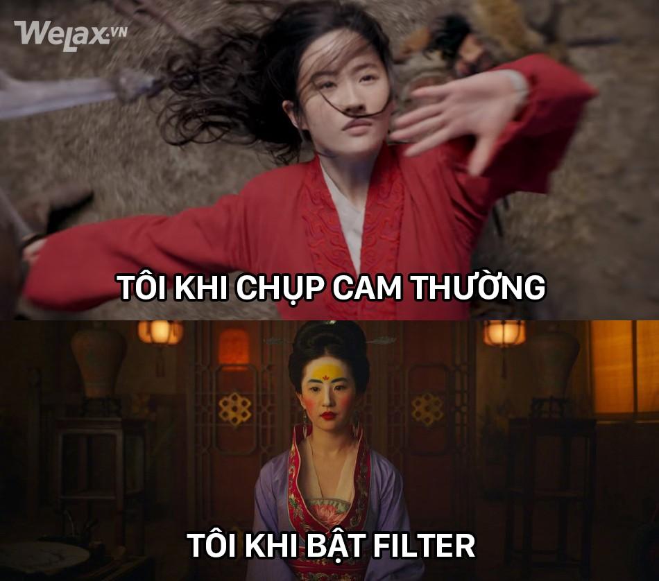 Đơ y chang biểu cảm cô Tấm ngã cây của Hạ Vi đã đành, Lưu Diệc Phi trong Mulan còn tặng khán giả nhiều meme hơn thế - Ảnh 8.