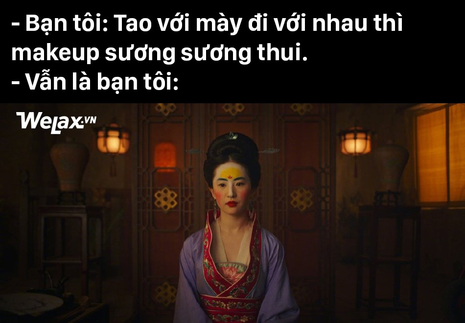 Đơ y chang biểu cảm cô Tấm ngã cây của Hạ Vi đã đành, Lưu Diệc Phi trong Mulan còn tặng khán giả nhiều meme hơn thế - Ảnh 12.