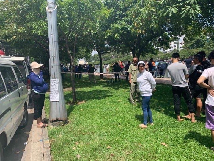 Thi thể nam thanh niên trên kênh Nhiêu Lộc chính là nghi phạm sát hại nữ sinh 19 tuổi trong phòng trọ - Ảnh 1.