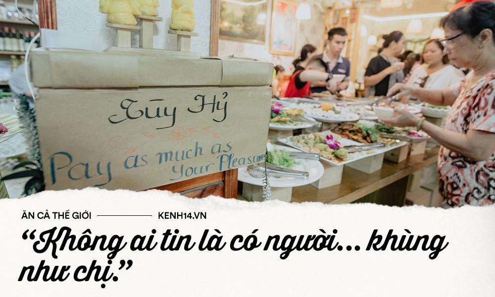 Quán chay từ thiện độc nhất vô nhị ở Sài Gòn: ăn tuỳ bụng trả tiền… tuỳ tâm - Ảnh 2.