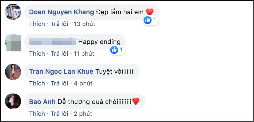Hoa hậu Đặng Thu Thảo, Ngô Kiến Huy cùng dàn sao Việt đồng loạt chúc mừng Đông Nhi - Ông Cao Thắng chuẩn bị về một nhà - Ảnh 3.