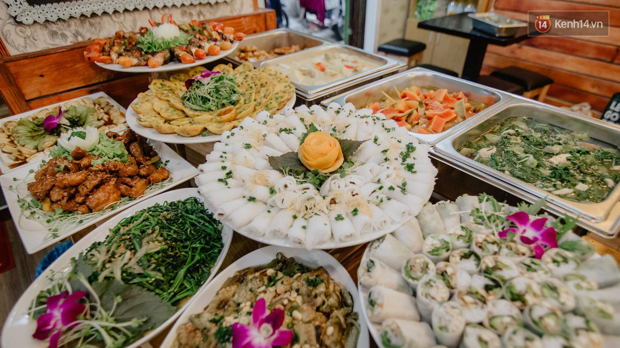 Quán chay từ thiện độc nhất vô nhị ở Sài Gòn: ăn tuỳ bụng trả tiền… tuỳ tâm - Ảnh 3.