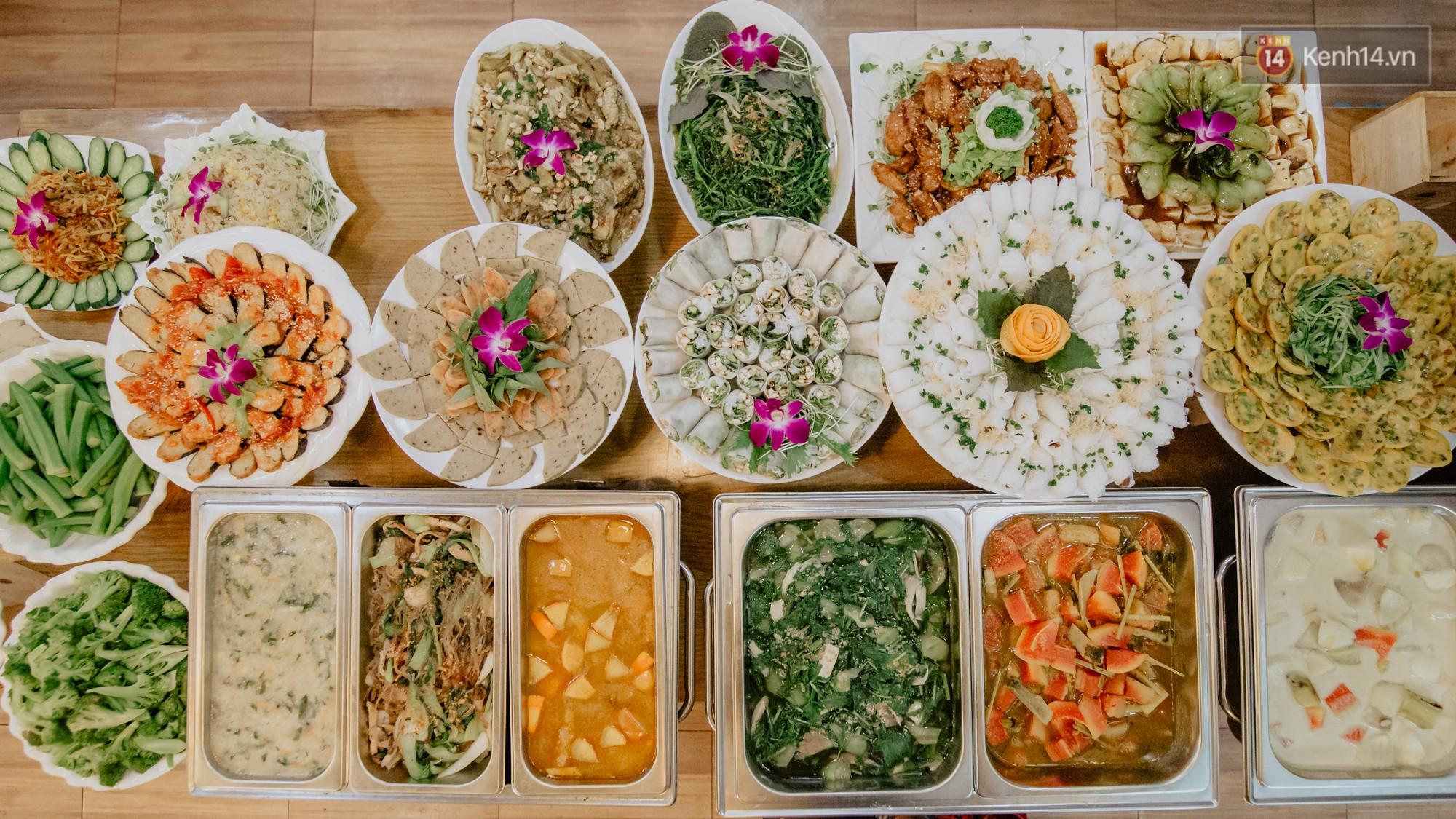 Quán chay từ thiện độc nhất vô nhị ở Sài Gòn: ăn tuỳ bụng trả tiền… tuỳ tâm - Ảnh 5.