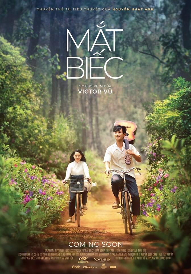 Mắt Biếc tung teaser poster đẹp như mộng nhưng điều cư dân mạng chú ý lại là rừng hoa sim - Ảnh 1.