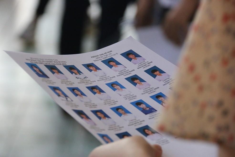 Hàng nghìn bài thi trắc nghiệm THPT Quốc gia bị lỗi - Ảnh 1.