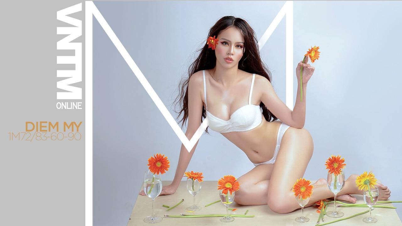 Bỏng mắt với hình thể của dàn thí sinh nữ tranh chiếc vé đầu tiên vào nhà chung Vietnams Next Top Model 2019 - Ảnh 3.