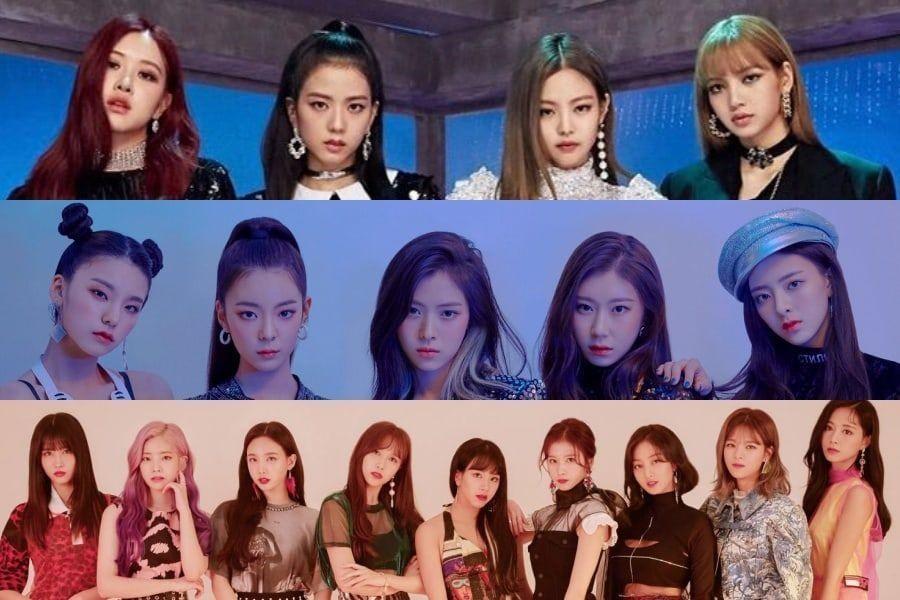 Top 10 girlgroup bán album