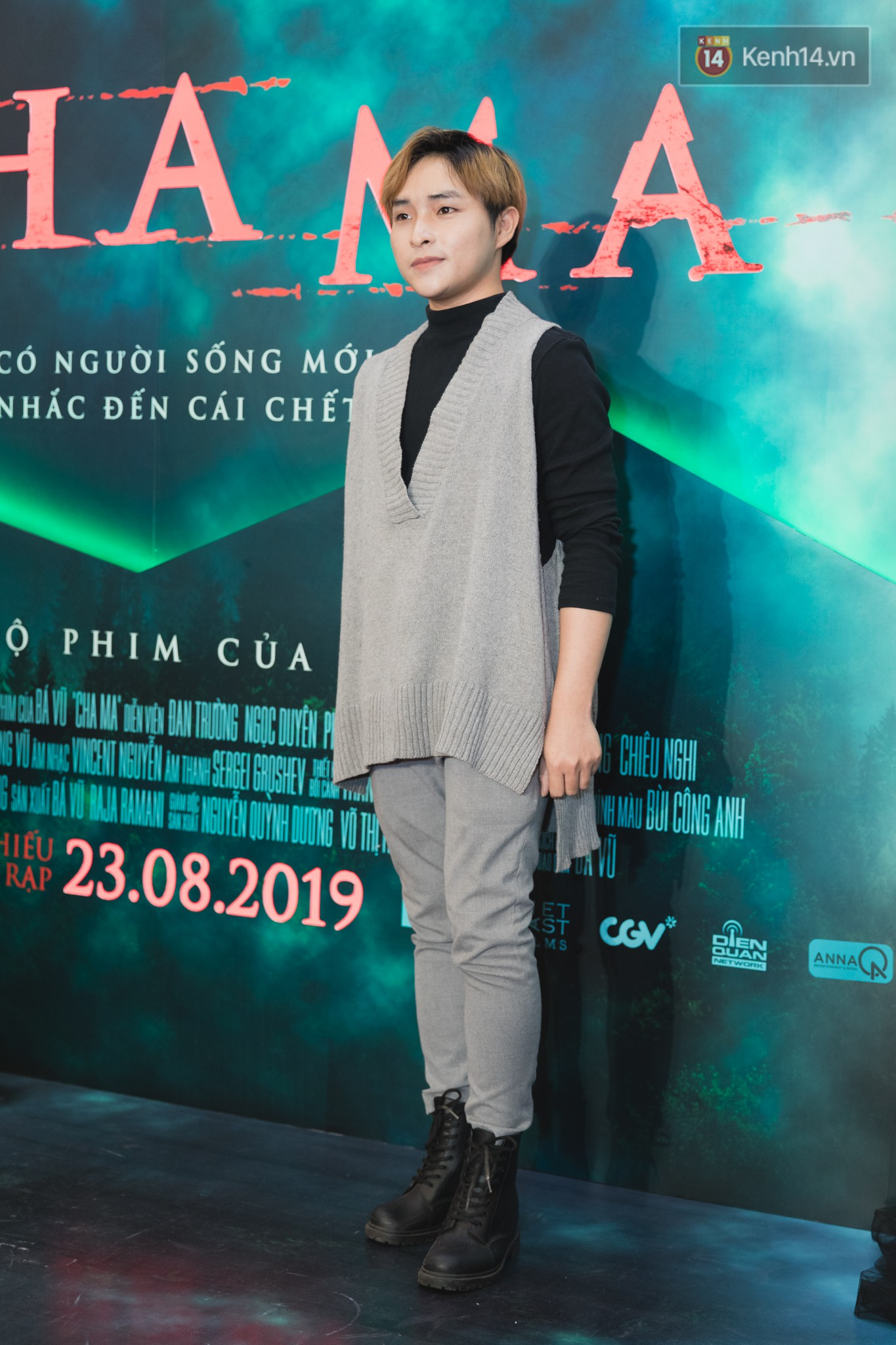 Sài Gòn vào mùa mưa là anh Bo Đan Trường lẹ làng diện tóc mái hiên sừng sững giữa thảm đỏ Cha Ma - Ảnh 12.