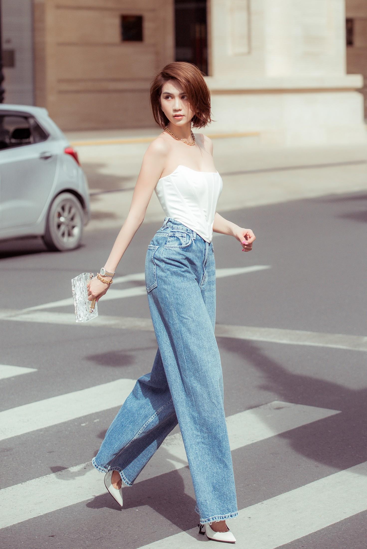 VZN News: Đâu cần hở bạo, Ngọc Trinh tóc ngắn kín đáo xuống phố cũng đủ khiến dân tình thổn thức vì quá sang - Ảnh 10.