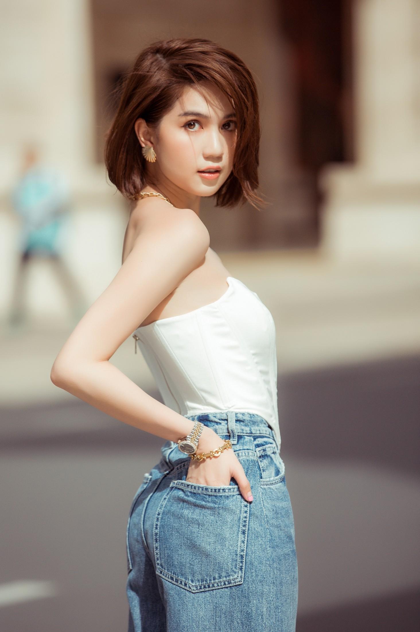 VZN News: Đâu cần hở bạo, Ngọc Trinh tóc ngắn kín đáo xuống phố cũng đủ khiến dân tình thổn thức vì quá sang - Ảnh 8.