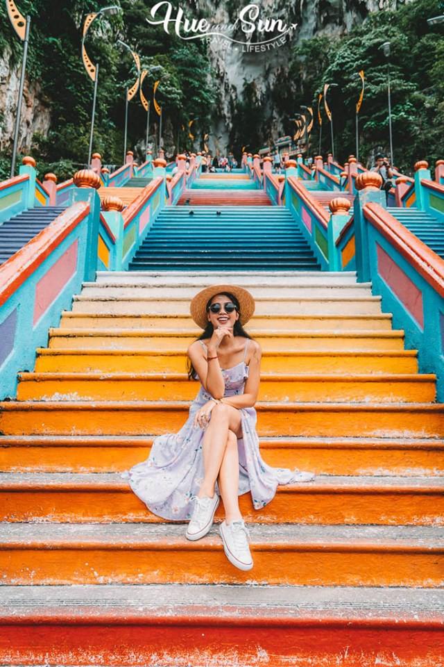 VZN News: Nữ travel blogger chia sẻ bí kíp sống ảo tại động Batu nổi tiếng để lúc đi vắng người, khi về thì hốt trọn ảnh xinh - Ảnh 7.