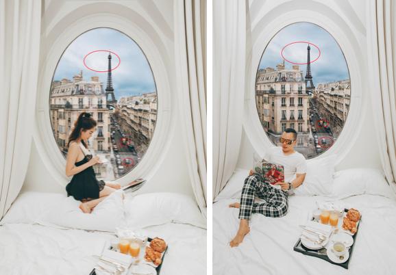 """VZN News: Hễ Ngọc Trinh và Vũ Khắc Tiệp cùng đi du lịch là… có chuyện: Ảnh nude 100% ở Bali vừa rồi còn chưa gây sốc bằng đợt """"ngưng đọng thời gian"""" ở Paris - Ảnh 9."""
