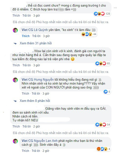 VZN News: Ăn gạch đá vì vào trường Kinh tế quốc dân quay video tán nữ giảng viên, nam youtuber vẫn đáp trả cực thái độ với dân mạng, thậm chí còn miệt thị phụ nữ! - Ảnh 5.