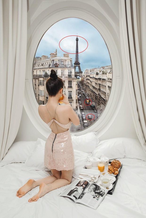 """VZN News: Hễ Ngọc Trinh và Vũ Khắc Tiệp cùng đi du lịch là… có chuyện: Ảnh nude 100% ở Bali vừa rồi còn chưa gây sốc bằng đợt """"ngưng đọng thời gian"""" ở Paris - Ảnh 7."""