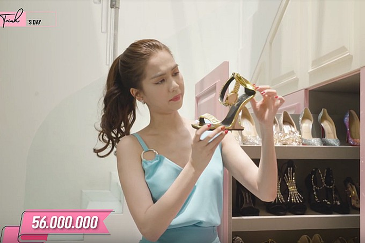 """VZN News: Bị dân mạng thách đố chán chê, Ngọc Trinh đã đưa ra câu trả lời về việc sắm đôi giày nơ """"quét đất"""" gần 60 triệu VNĐ -  Ảnh 6."""
