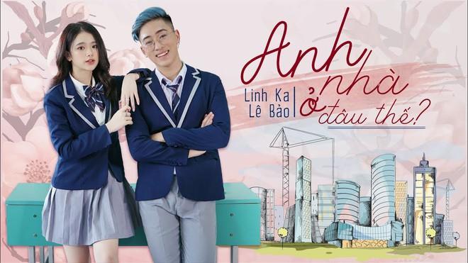 Bất thình lình xuất hiện trong top trending, Linh Ka làm MV cover come back cực mạnh vượt qua Chi Pu - Ảnh 4.